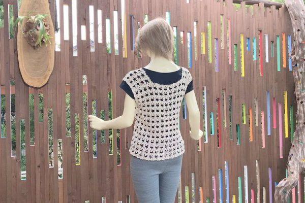【商品紹介&割引情報】80%割引の処分特価♥手編みの花柄シャツ
